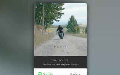 "Dustin Tucker Announces New Single, ""Soul on Fire"""